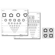 LEA Symbols Screening chart Massachusetts (10 lines) 3 m