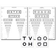 LEA Symbole / HOTV Screening Wall chart (Massachusetts) 3 m